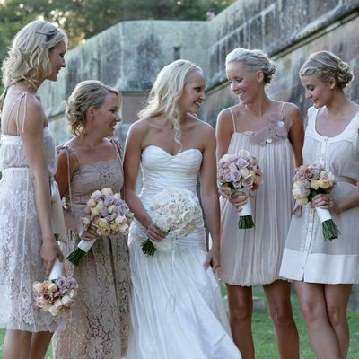 Bridesmaid Dresses on Cream Bridesmaid Dresses    Discount Wedding Gown