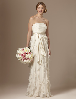 The Limited recently unveiled 2 very inexpensive wedding dresses
