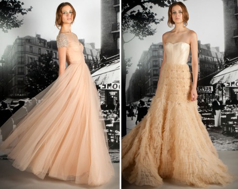 Champange and blush wedding dress weddings by vip travel for Places to donate wedding dresses